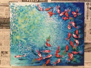 金魚の新作完成